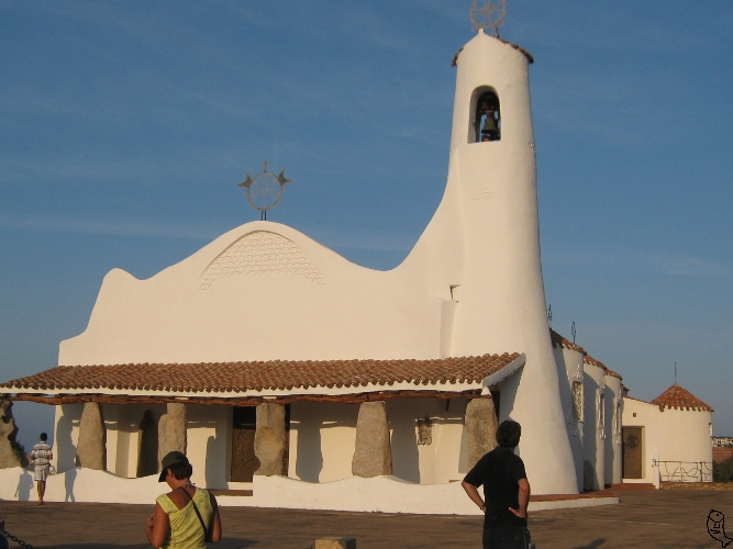 Porto cervo Church