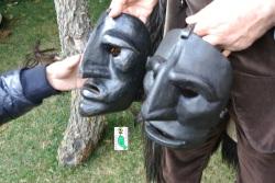 Mamuthones mask Sa Bisera I