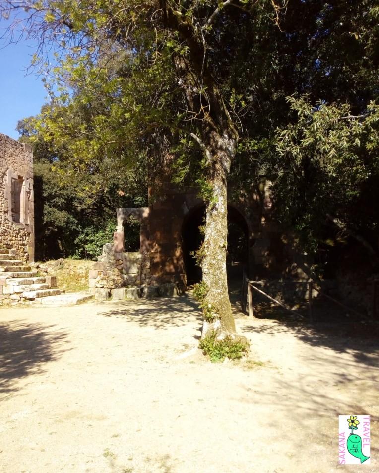 Castello Aymerich Ruins Laconi